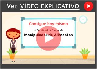 Manipulador de Alimentos Vídeo